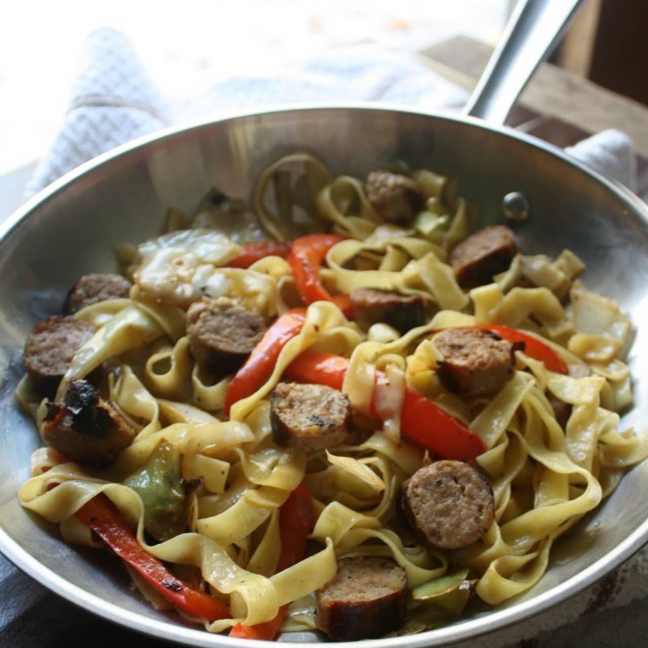 Italian Sausage Dinner Skillet