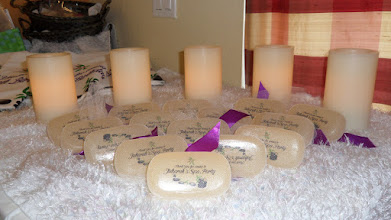 Photo: Unique  Personalized Soap Bars for your Guests at you Spa Party by http://www.BestPartyPlanner.net