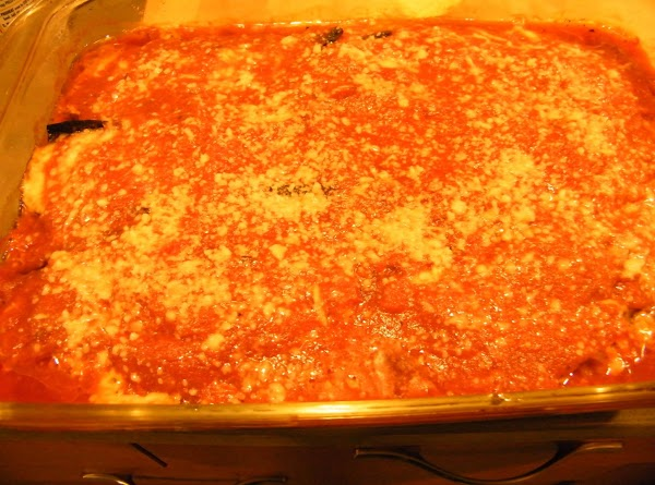 Bake in 350 degree oven until mozzarella is melted and tomatoes are bubbling all...