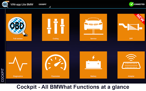 iViNi-apps for BMW Lite-BMWhat