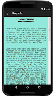 Leon Ware Lyrics Music - náhled