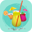 Cocktail Recipes, mixed drinks icon
