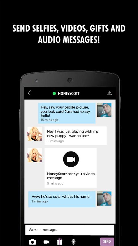 Xpanded Chat - Flirt- screenshot