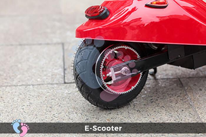 Xe điện E-Scooter mini gấp gọn 19