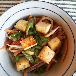 Bean Sprout Salad With Tofu.