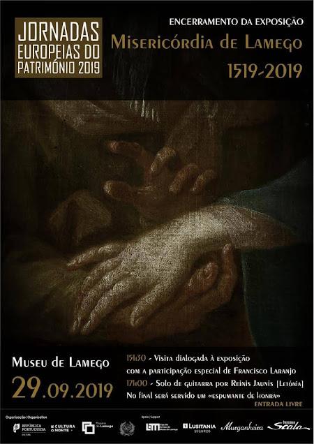 Jornadas Europeias do Património no Museu de Lamego celebram duplo centenário dos 500 anos da Misericórdia de Lamego e da Viagem de Circum-Navegação