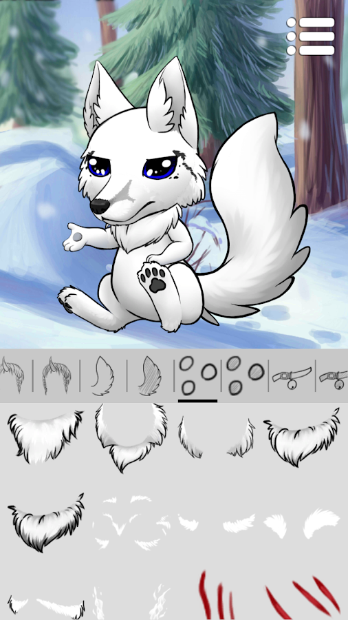 Avatar Maker: Wolves and Dogs- screenshot