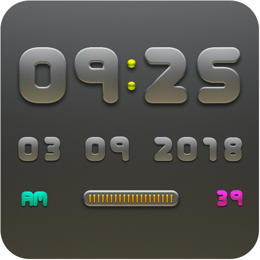 NANO Digital Clock Widget