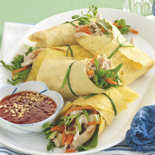 Chicken Omelette Rolls