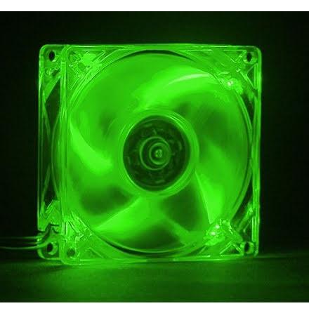 MIST vifte m/grønn LED, 80x25