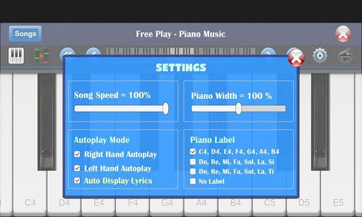 Piano Music Free 1.2 screenshots 14