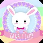 Happy Kawaii Jump Icon