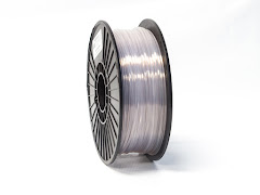 Translucent Clear PRO Series PLA Filament - 1.75mm (1kg)