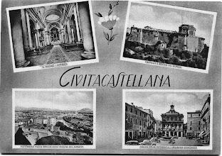 Photo: Vedute di Civita Castellana. Anni '50.