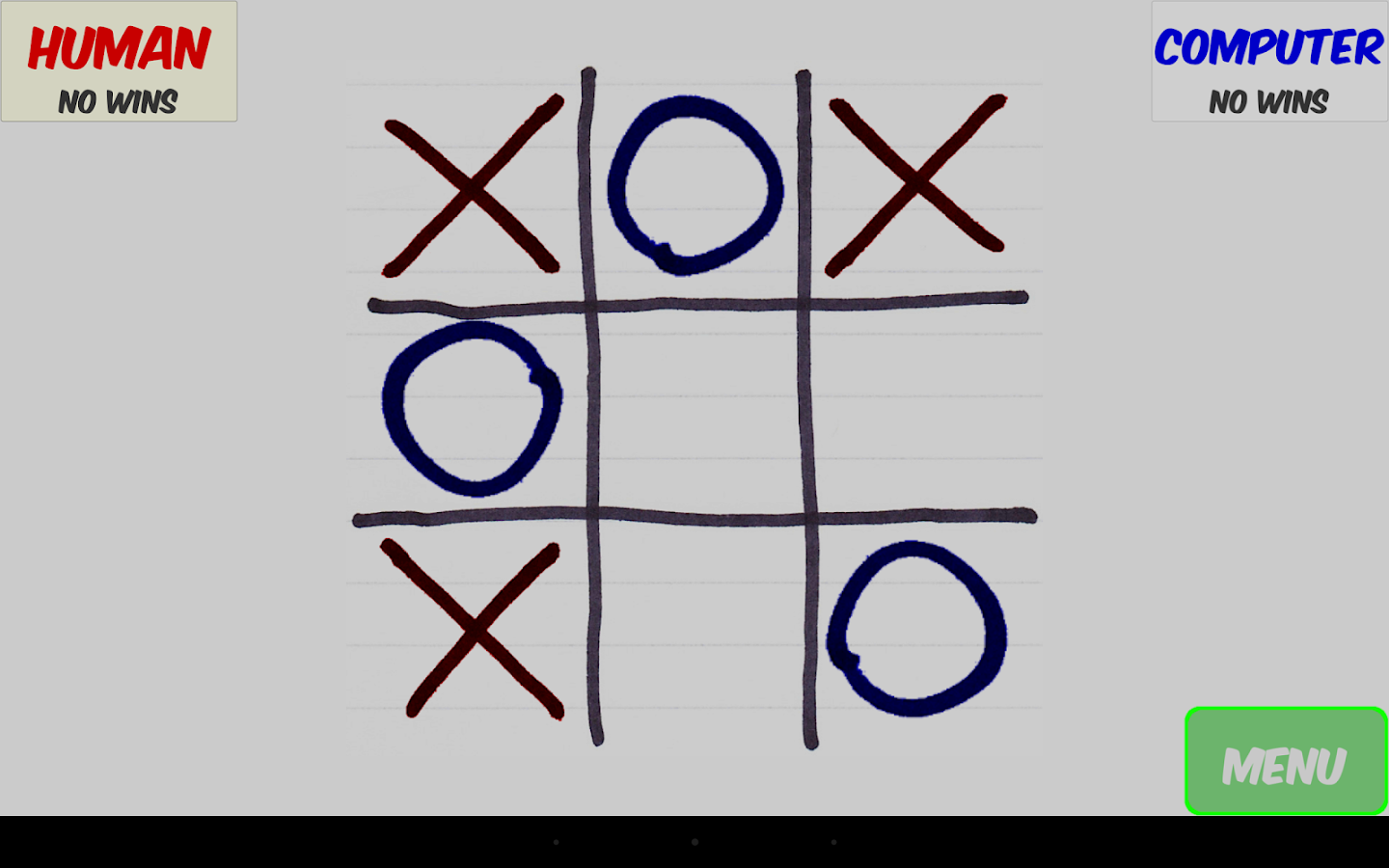 Tic-Tac-Toe with Stuff- screenshot