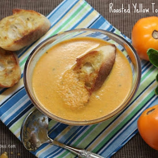 Roasted Yellow Tomato Soup