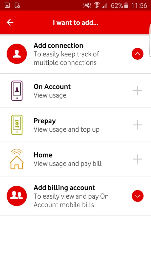 My Vodafone New Zealand- screenshot
