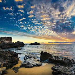 Point Peron by Loredana  Smith - Landscapes Waterscapes ( shore, australian, tropical, solitude, ocean, beach, beauty, travel, landscape, coastline, romance, escape, coast, sun, tranquil, sky, nature, idyllic, surf, climate, water, sand, seashore, waves, sea, leisure, tourism, seascape, relaxation, vacations, paradise, coastal, tourist, color, sunset, serene, australia, scene, view, panoramic, culture )