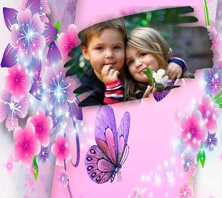 Butterfly Photo Frames - screenshot