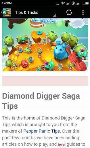 Guide for Diamond Digger Saga