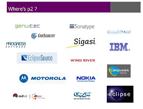 Photo: Who used p2 from EclipseCon 2010 slide