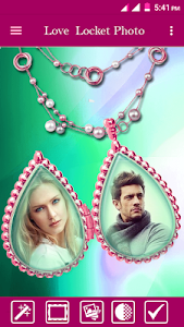 Love Locket Photo Frame screenshot 1