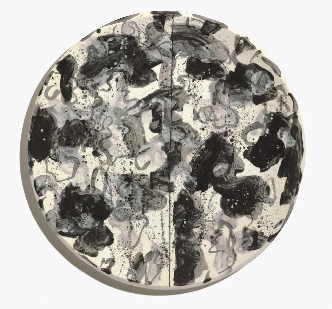 "<p> <strong>Study for Splendide-Hôtel H</strong><br /> Ceramic plate<br /> 13 ¼"" x 13 ¼""<br /> 2018</p>"