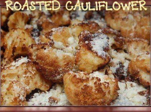 Roasted Cauliflower With Parmesan Recipe