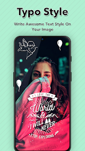 Download Typo Style: Add text On Photo with Cool Font Style For PC Windows and Mac apk screenshot 7