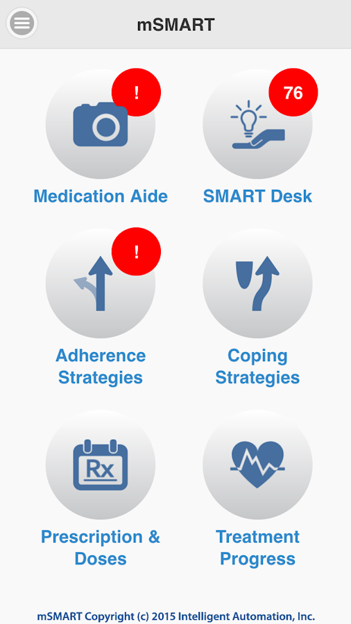 mSMART Medication Aide- screenshot