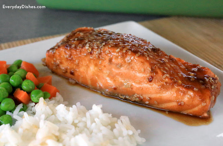 Sesame Garlic Baked Salmon Recipe | Yummly