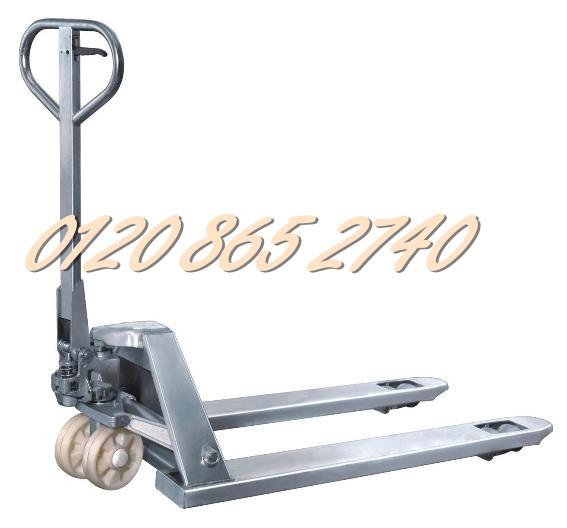 Bán xe nâng tay inox 2000kg giá siêu rẻ LH 01208652740 - Huyền