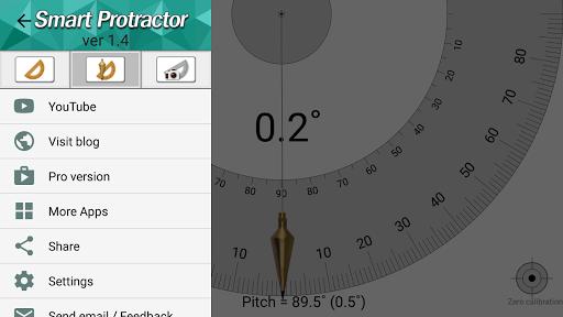 Smart Protractor Lite screenshot 5