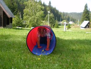 Photo: Gabika, hráš sa na Dunča?