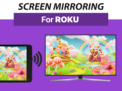 Screen Mirroring+ for Roku Apk 3