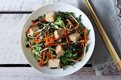 A Tofu Salad with Plenty of Flavor
