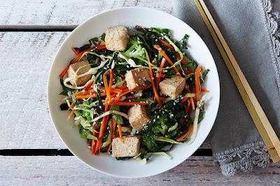 A Tofu Salad with Plenty of Flavor