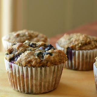 Blueberry Flax Oat Muffins Recipe