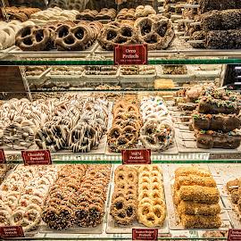 Pretzels, Anyone? by Richard Michael Lingo - Food & Drink Candy & Dessert ( georgia, dessert, savannah, pretzels, food )