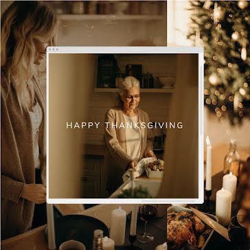 Family Thanksgiving - Thanksgiving Template