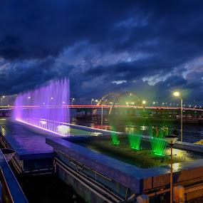 Kenjeran Dancing Fountain by Gandi Tan - City,  Street & Park  Fountains
