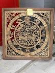 hand carved frame