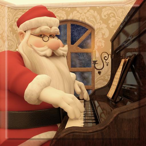 Christmas Piano and Snowflakes 音樂 App LOGO-硬是要APP