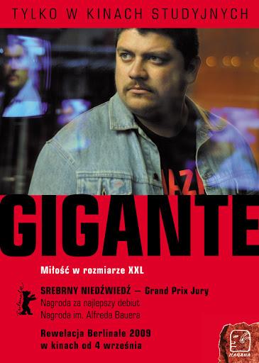 Polski plakat filmu 'Gigante'