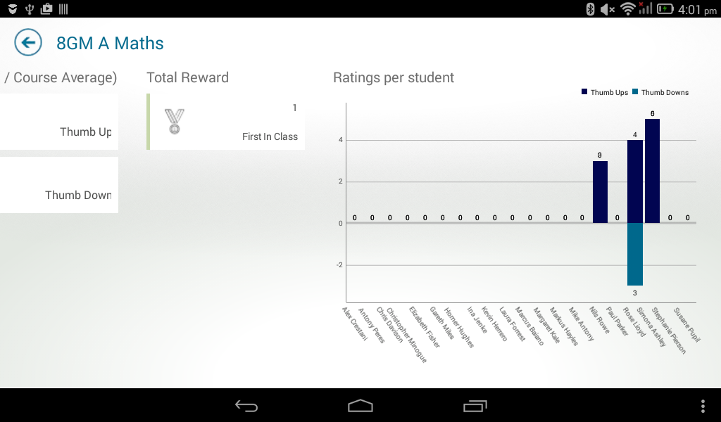 Classter For Teachers- screenshot