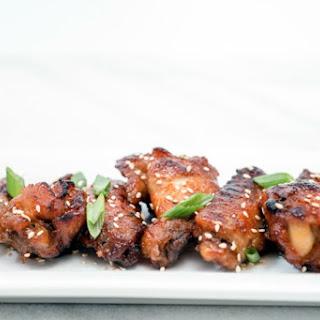 Slow Cooker Korean Chicken Wings