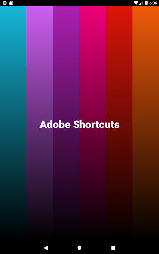 Shortcuts For Adobe 1.1 Apk for Android 8