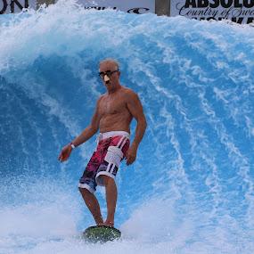 Jeff Being Jeff by Scott Murphy - Sports & Fitness Surfing ( wavehouse,  )