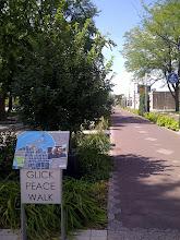Photo: Glick Peace Walk, Athenaeum walk, Indianapolis IN