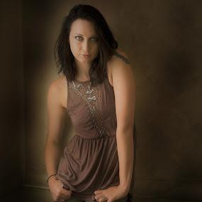 Ashley by Jim Oakes - People Portraits of Women ( studio, beautiful, day.window, model, female )